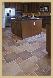Ceramic Tile Floor